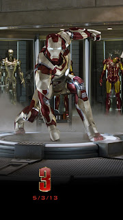 Free Download Iron Man 3 iPhone 5 HD Wallpapers
