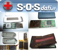 Recuperare dati da chiavette USB o da memorie flash danneggiate