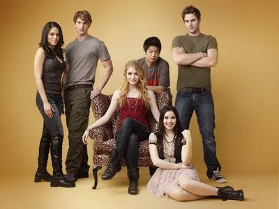 The cast of The Nine Lives of Chloe King