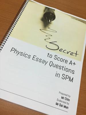 Spm essay marking scheme