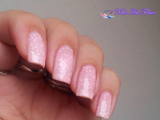 CE102 Bubble Cream - Ceramic Sorbet Effect Layla - Swatch02 - Nail Art Felice