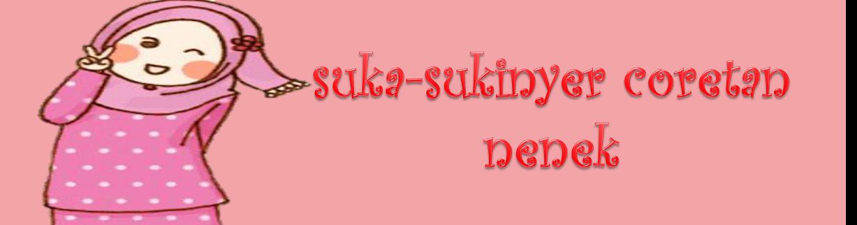 suka-SukinYer Coretan