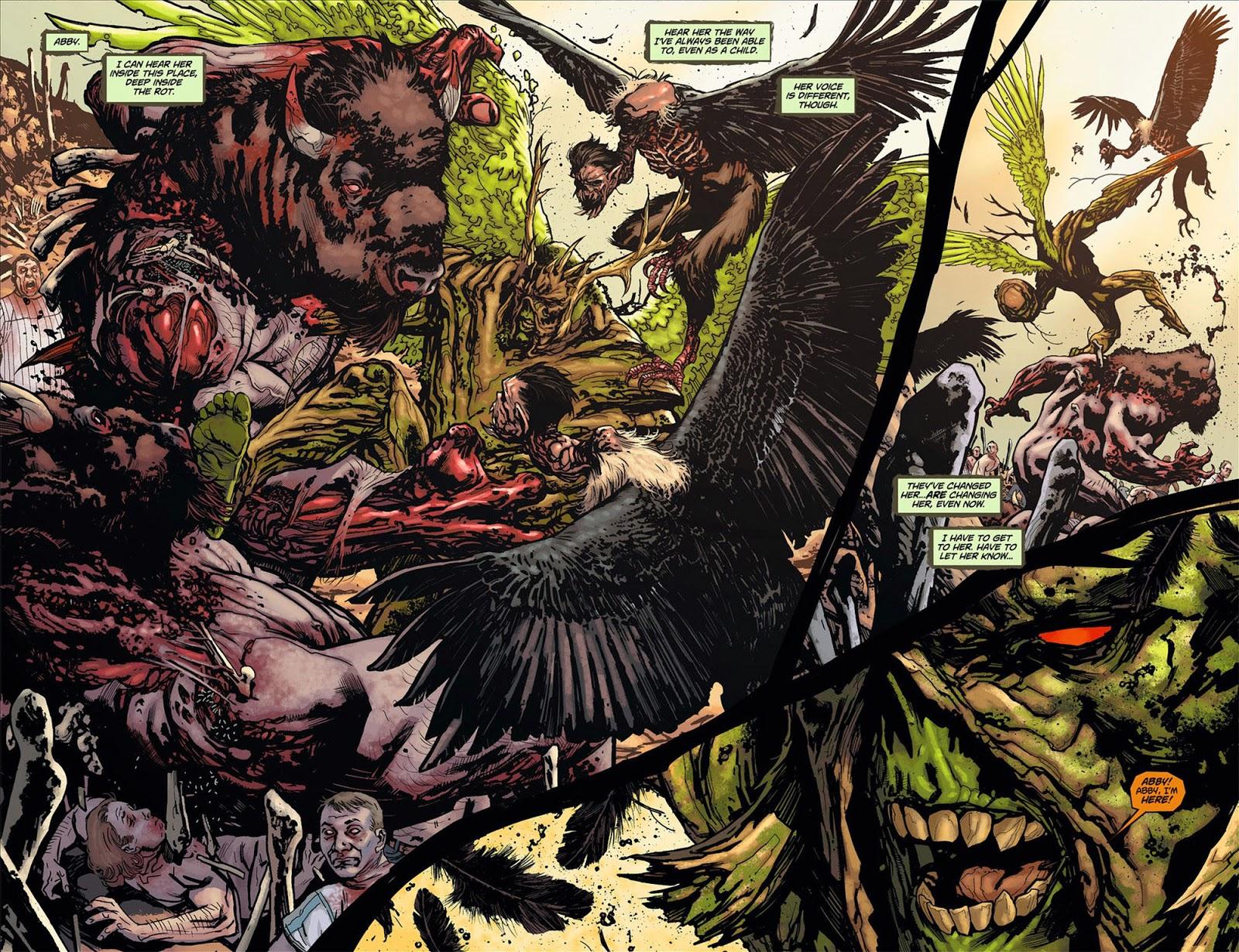 Swamp thing 008 reading comics online for The thing free online
