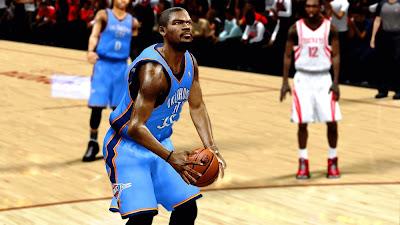 NBA 2K13 Kevin Durant Face NBA2K Mods
