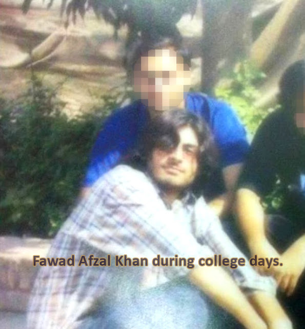Fawad Afzal Khan, Fawad Khan, Bollywood, PTV, Drama, Fawad, Humsafar, College Days, Old Pic, Childhood, Young,