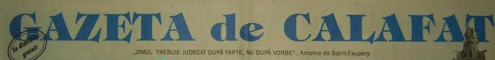 Gazeta de Calafat
