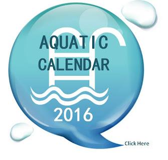 2016 Aquatic Calendar