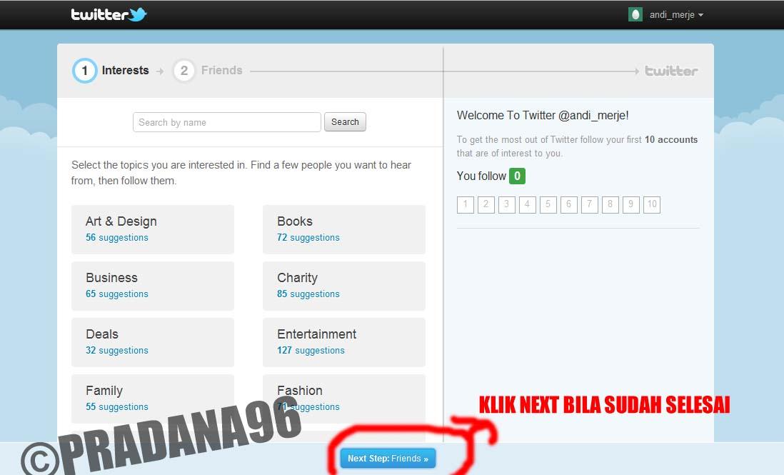 Cara Membuat Akun Twitter - Langkah Mendaftar di Twitter