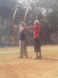 WITH MY YOUNGEST ARCHERS