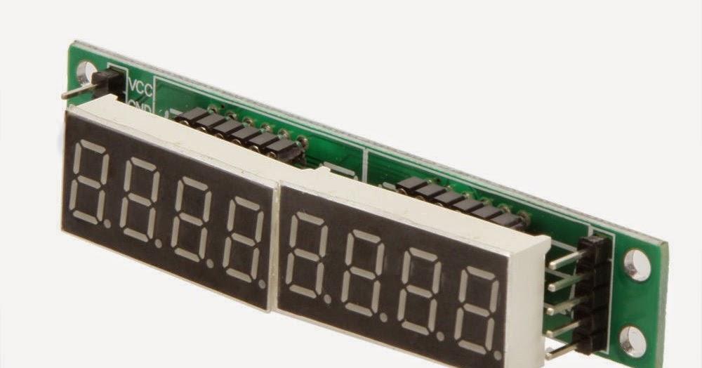 Doz arduino gps clock with max driven segment