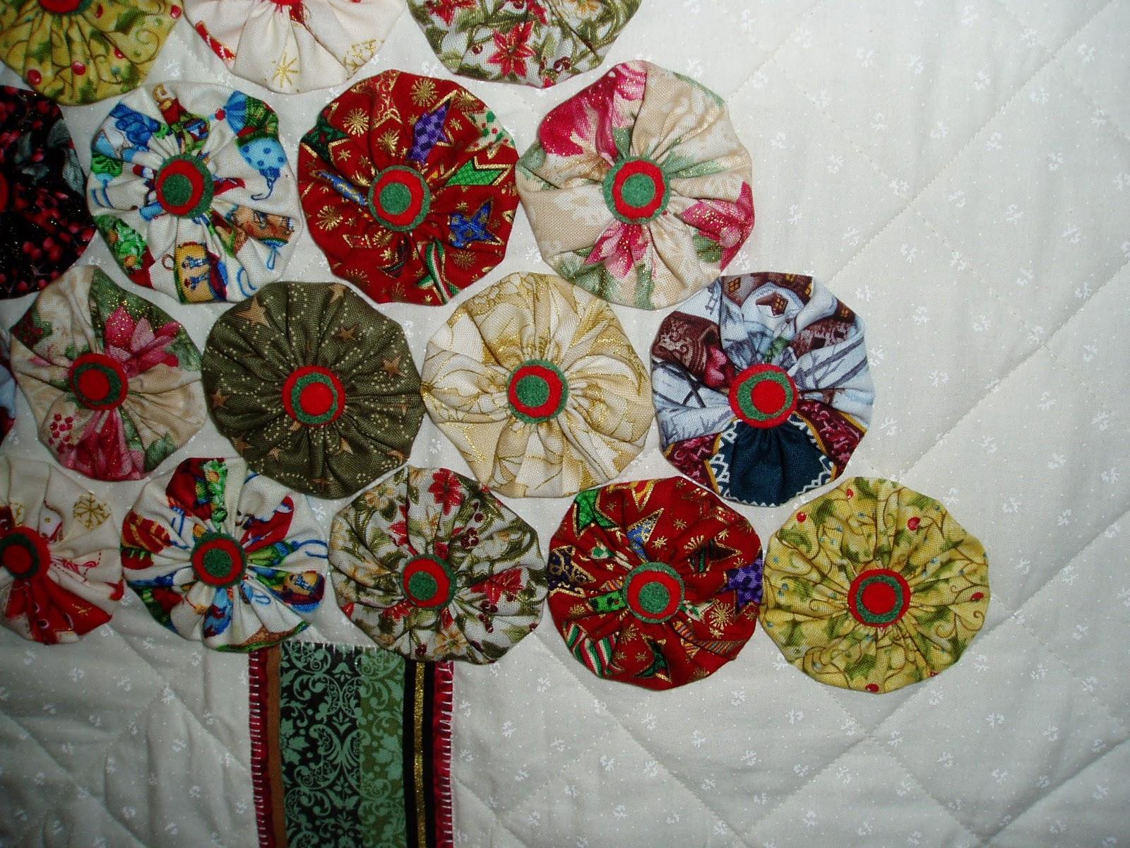 El costurero de teresa panel rbol de navidad - Arbol de navidad de tela ...