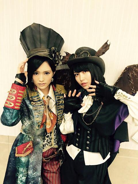 AKB48 Yamamoto Sayaka & Yokoyama Yui Halloween Night 02