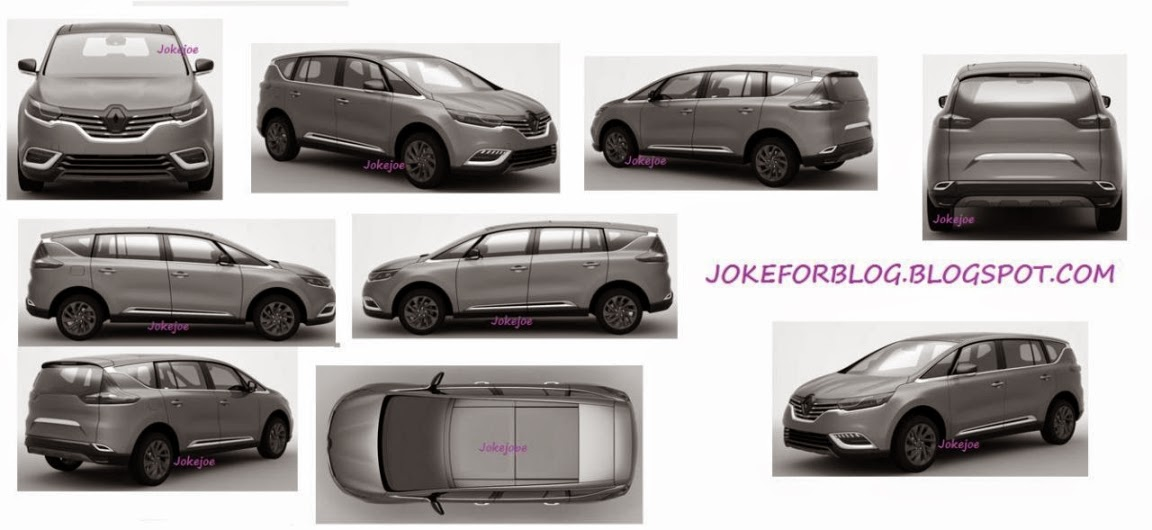 next gen new renault espace 2015 2016 first photos and details garage car. Black Bedroom Furniture Sets. Home Design Ideas