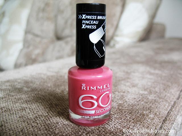 Rimmel London 60 Seconds Nail Polish: 405 Rose Libertine