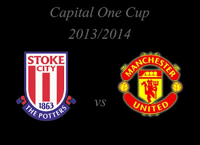 Stoke City vs Manchester United Capital One Cup 2013, Manchester United League Cup 2013