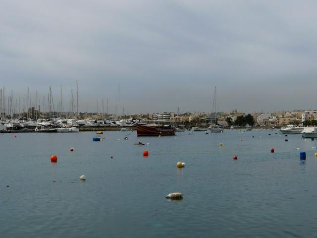 Port w Sliemie - Malta