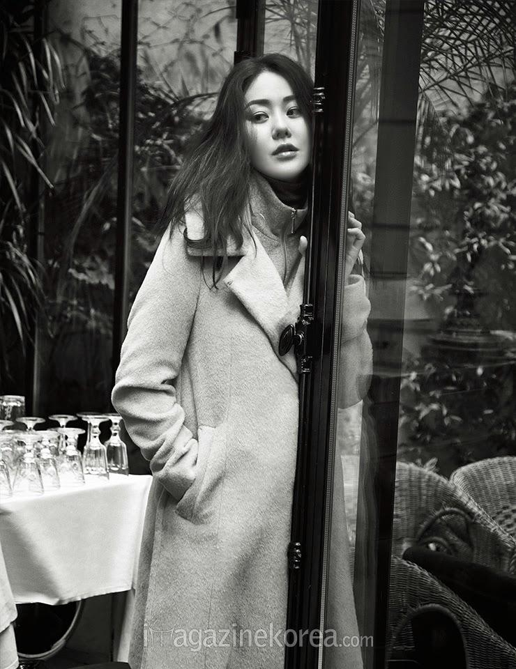 Go Hyun Jung - Harper's Bazaar Magazine November Issue 2014