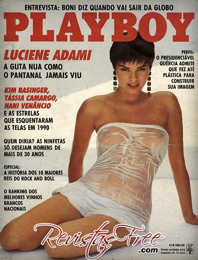 Playboy Janeiro 1991 - Luciene Adami