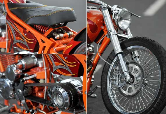 Modifikasi Honda Tiger Hand made Dari Jombang