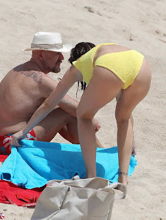 Stephanie Seymour Yellow Bikini Saint Barthelemy