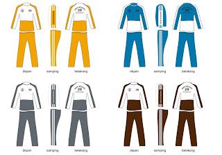 Desain Baju Pakaian Olahraga Sekolah Terbaru Untuk Remaja Putra Putri