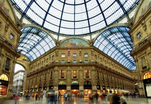 De compras en Italia