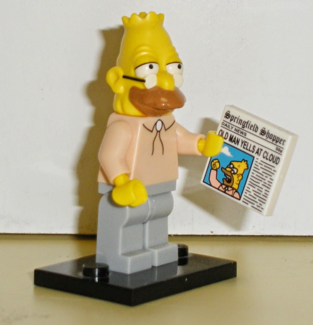 Lego lisa simpson the simpsons choose parts legs torso head skirt saxophone