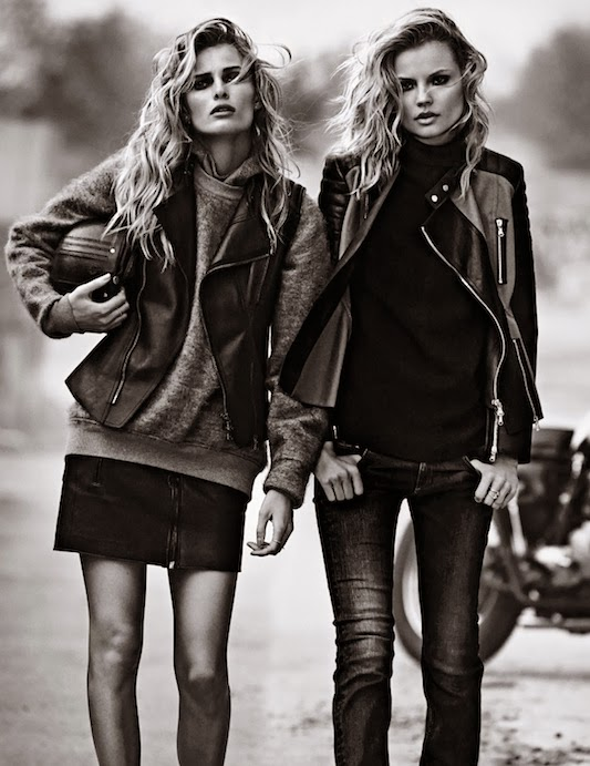 Magdalena Frackowiak and Edita Vilkeviciute for Lachlan Bailey, W Magazine, September 2013