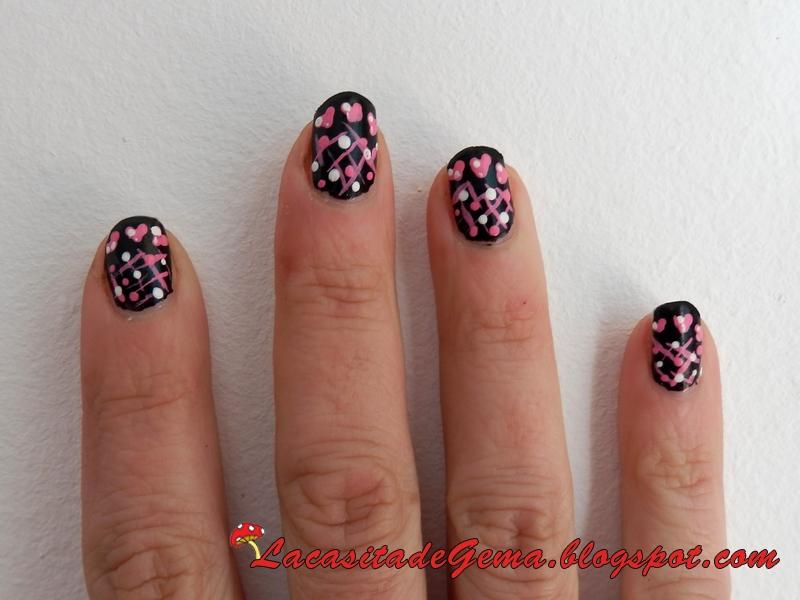 La casita de Gema: Tutorial uñas (Nail art) Nº61Especial San ...