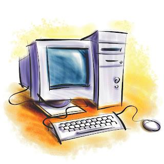 Tim' Potter Cartoon computer