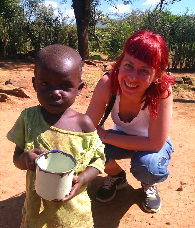 fra Miro Babić mali dom misija afrika sirotište volontiranje Maja Horvat