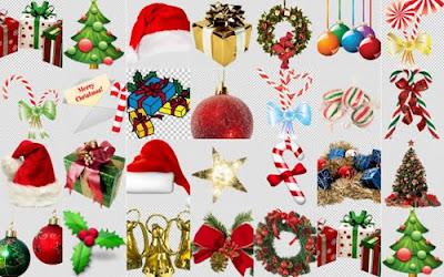 imagenes png para Navidad 2011 decorar tus fotos gratis