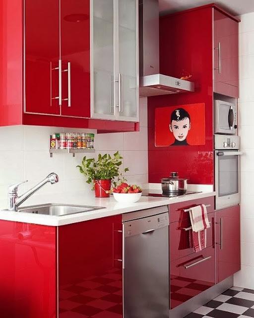 Dekorasyonda Kırmızı