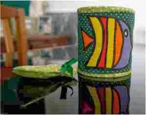 decoração do cofrinho de lata