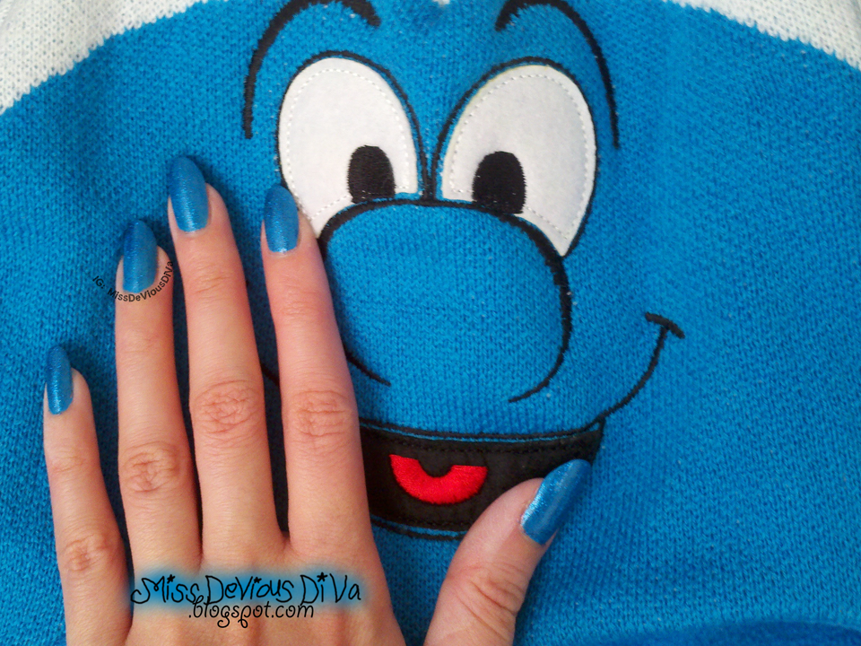 #31DC2014 - Day 5: Blue Nails