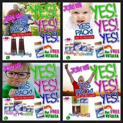Promosi YES PACK Shaklee