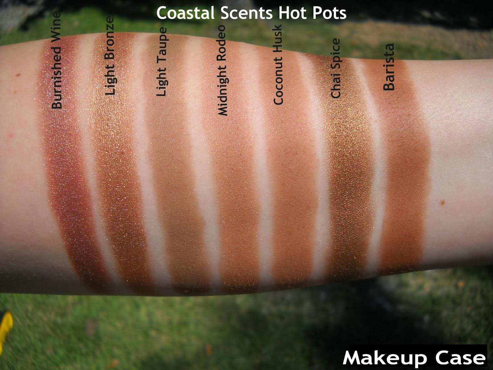 makeup coastal scents pots