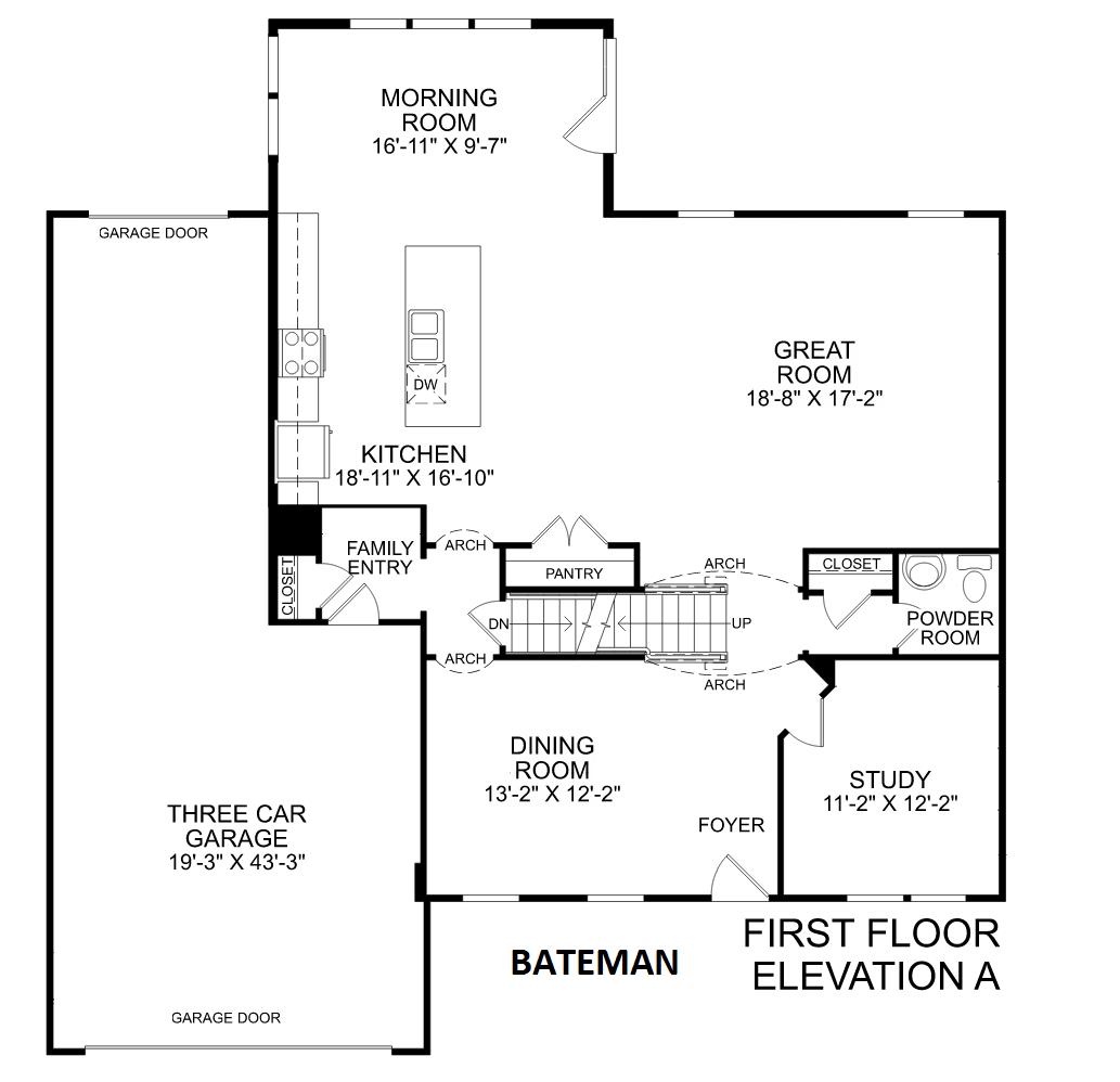 Kitchen Floor Plans And Elevations: Bateman In Central New York