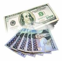 rupiah, usd rupiah, dollar versus rupiah, kurs rupiah