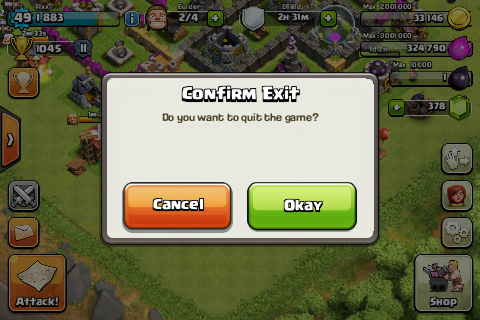 Clash of Clans Screenshot Tutorial