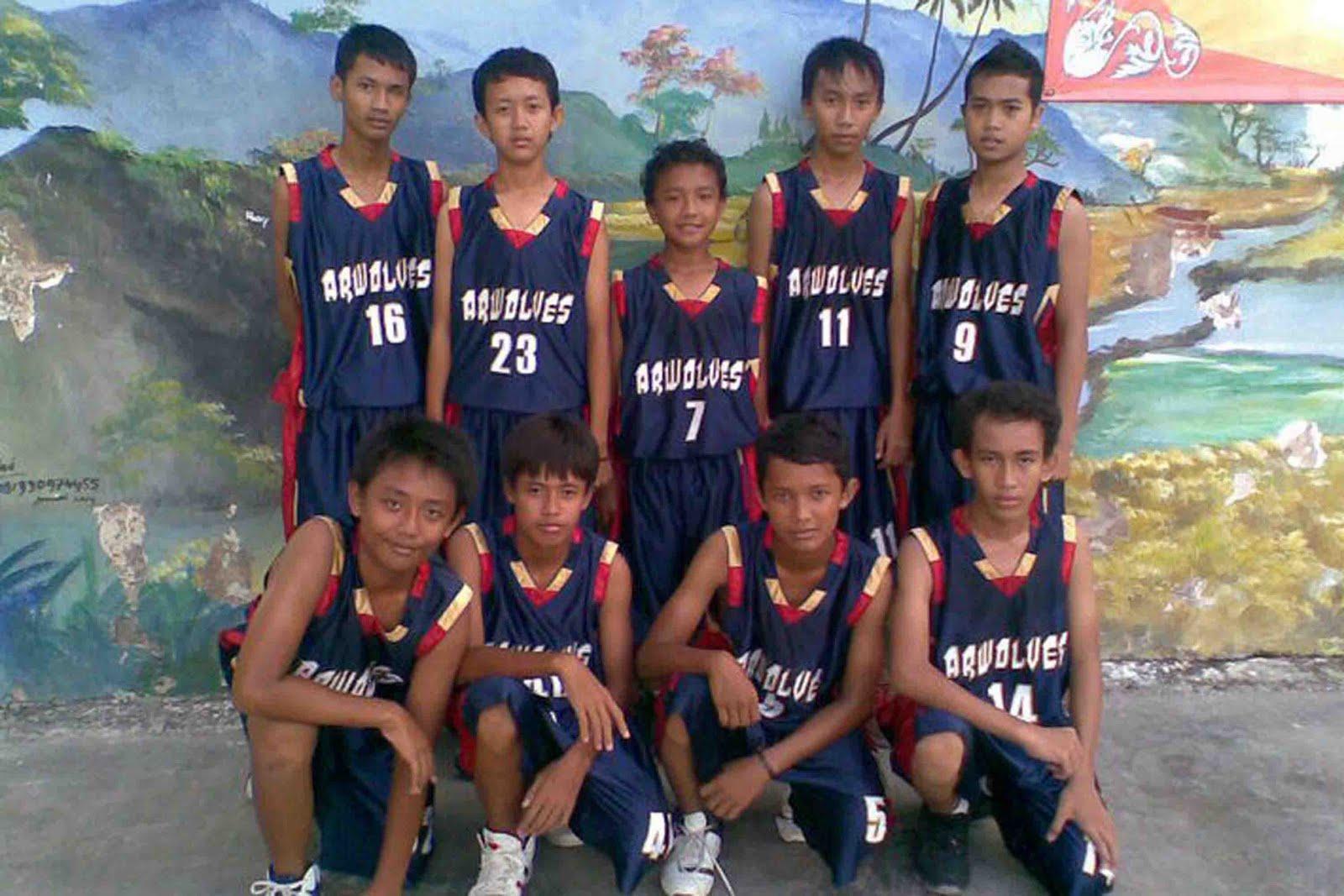 ARWOLVES FIRE BLOG: Tim Bola Basket Cowok SMP Negeri 18