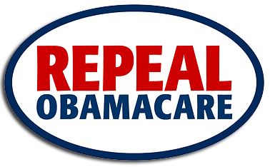 A Picture saying Repeal Obama Care Plain Text