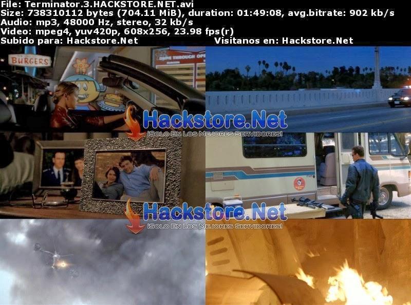 Captura Terminator 3 (2003) DVDRip Latino