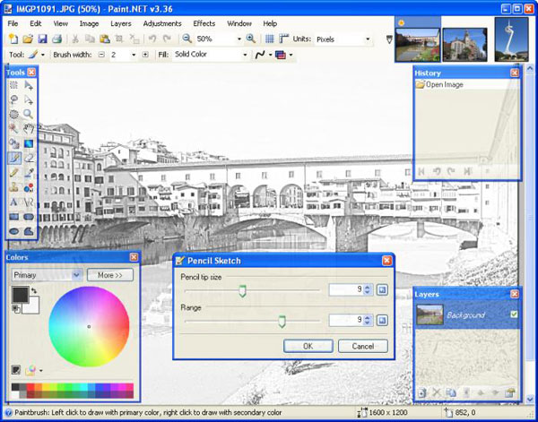Aplikasi Edit Foto Paint.NET