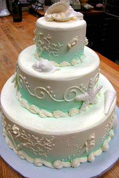 delicious beach wedding cakes ideas beach wedding cakes pictures food and drink. Black Bedroom Furniture Sets. Home Design Ideas