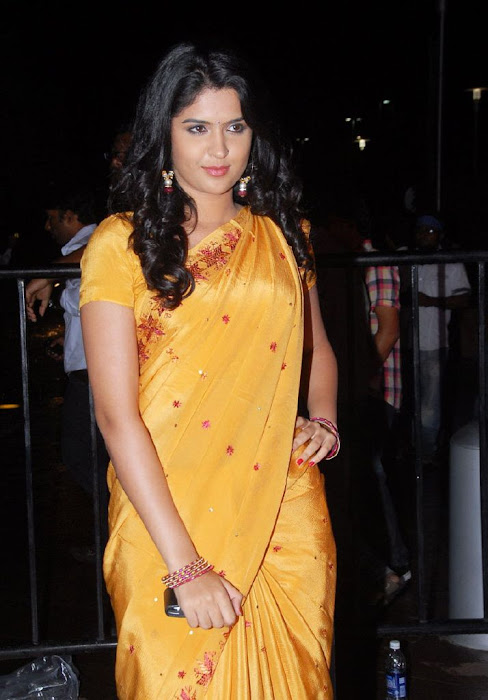 deeksha seth in saree latest photos