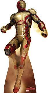 Iron Man 3 Cardboard Cutout! Flying..