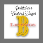 I'm Listed As A Featured Blogger