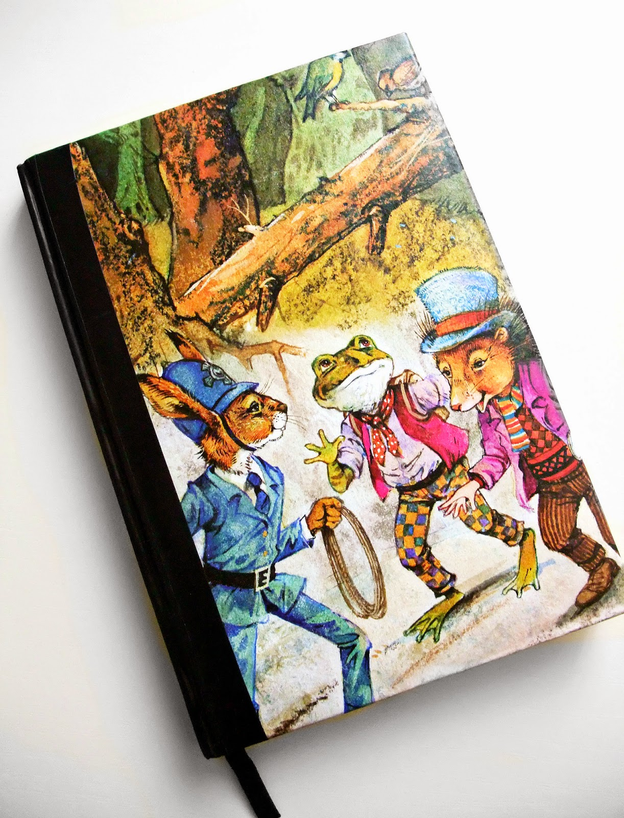 Children Note Book Cover : Maker land using old children s books to cover notebooks