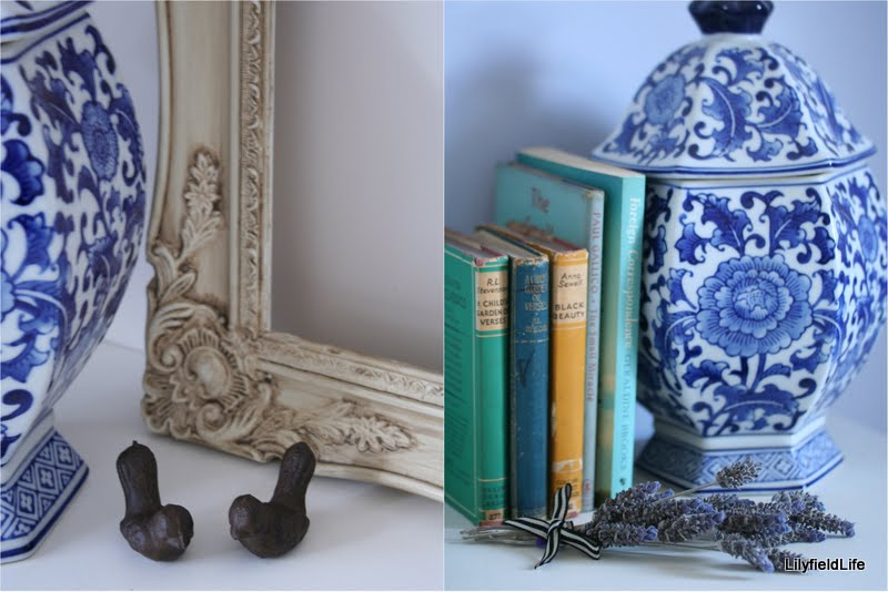 Create vignettes of beloved objets d'art